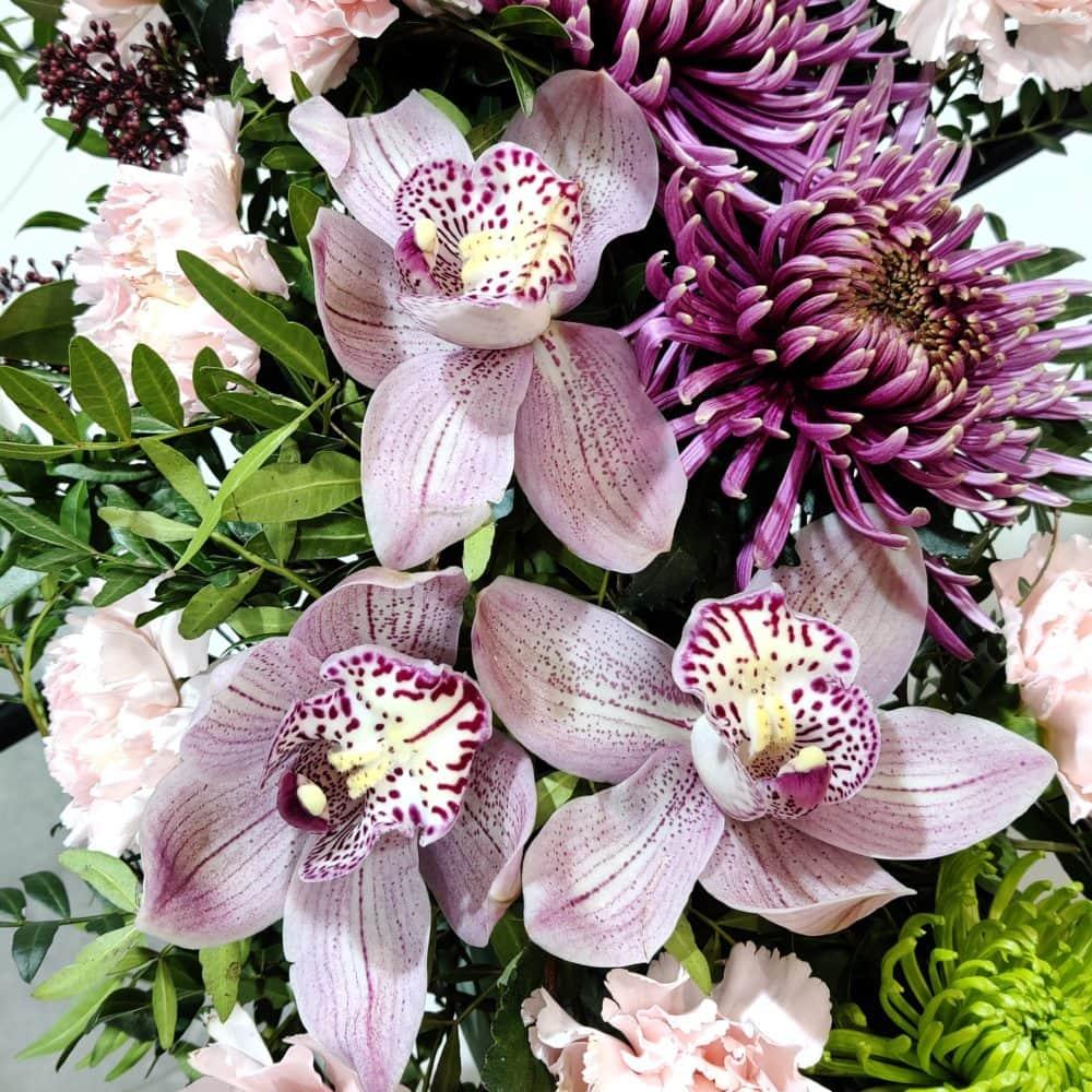 orquídea corona funeraria